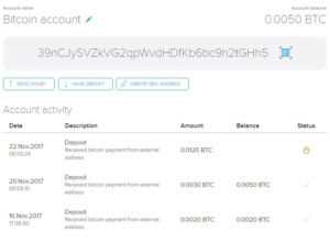 CryptoPay - transaction details